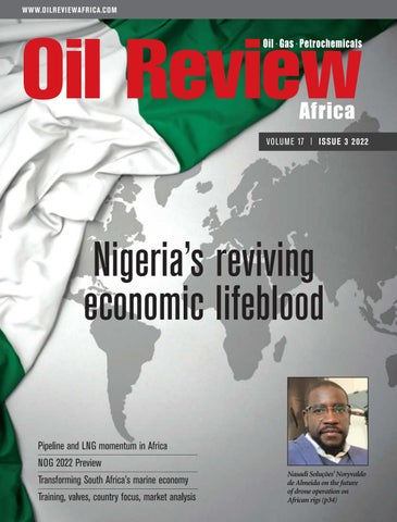 Oil Review Africa magazine cover 2012
