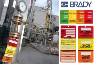 Efficiently track flange inspections and repairs with Brady solutions