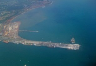 Takoradi Oilfield and Harbour